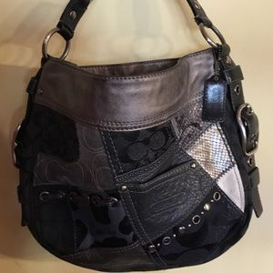 Coach Hobo Patchwork Purse